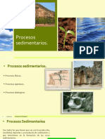 procesos sedimentarios