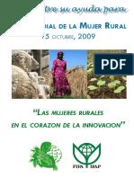Día Mundial de la Mujer Rural 2009