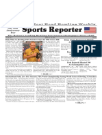 March 13 - 19, 2019  Sports Reporter