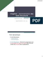 Chapitre - Outils de Test Strucutel