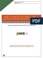 Bases Contrataciones Directa Nº055-2018