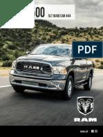 Ficha Tecnica Ram 1500 Slt Quad Cab 4x4 1540826520