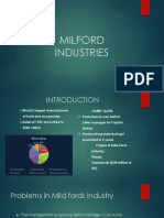 Milford Case