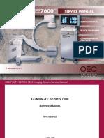 Manual de Servicio Arco en C 7600CD
