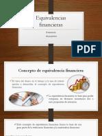 Equivalencias financieras