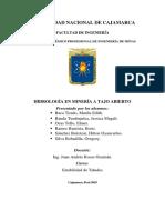 HIDROLOGIA EN MINERIA A TAJO ABIERTO FINAL.docx