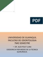 3. Cirugia Bucal II. 2da Clase 2018-19 Cii.transoperatorio.