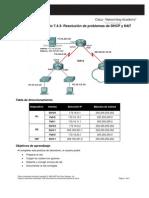 7.4.3Resolucion Problemas DHCP y NAT