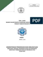 2. Soal-Jawab OSK Fisika SMA 2019