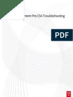 Premiere Pro Cs4 Troubleshooting