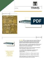 MF6 - Fibra Optica 4 Mbps