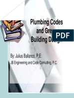 PlumbingCodes and Green Buildings Design