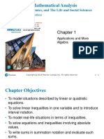 Applications and More Algebra