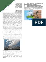 Ventajas y Desventajas Dle Medio Ambiente
