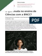 o Que Muda No Ensino de Ciencias Com a Bnccpdf