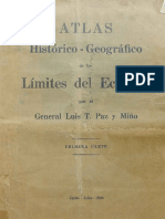 Atlas de los limites historicos del Eacudor