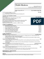 emed resume