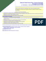 Internet - Tabela PF Essenciais
