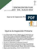 Afiche de Sencibilizacion Plan Estrategico Vial Intracarga 2016