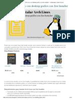 Instalar Arch Linux con desktop grafico con Zen Installer _ videoJuegos y Open Source.pdf
