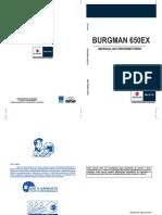 Burgman 650EX