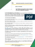 Edital Arapiraca Al 2019