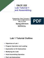 Tutorial Lab 1 S2010