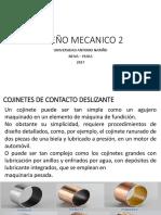 14_Diseño Mecanico 2_ Cojinetes de Contacto Deslizante