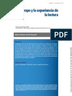 28 El tiempo y la experiencia de la lectura 2015.pdf