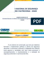 o Sistema Nacional de Segurança Alimentar e Nutricional Sisan Roberta (1)