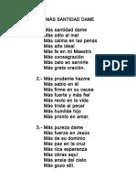 081.- Mas Santidad Dame