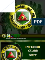 BASIC INTERIOR GUARD DUTY