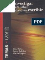 Varios - Investigar Para Saber - Saber Para Escribir.pdf