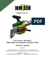 Demtech Pro-X