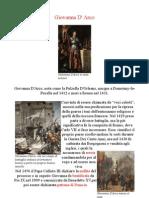 Scheda Biografica Di Giovanna D'Arco