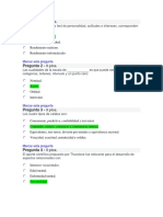 Quiz 2 Psicometria