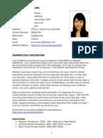 Jill's CV