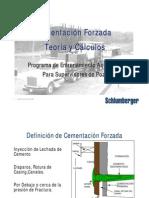 15 - Cementación Forzada. Teoría y Cálculos