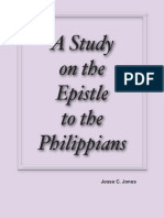 A Study on the Epistle to the Philippians by Jesse C. Jones
