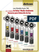 Sensor de Gas Combustible