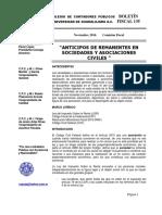 135 Boletin Fiscal Anticipos de Remanentes en Sociedades y Asociaciones Civiles