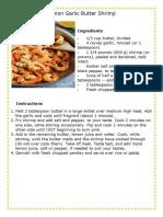 7 Sea Food Recipe