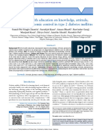 Impact of Health Education on Knowledge Attitude p(1)