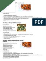 6 Sea Food Recipe