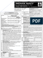 Indian Navy Incet Tmm 01 2019