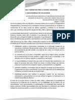 SUSTENTO LEGAL Y NORMATIVO PARA EL CUIDADO, INTEGRIDAD Y SANO DESARROLLO DE LOS ALUMNOS