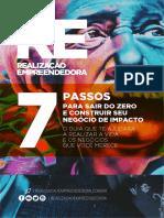 REALIZAÇÃO EMPREENDEDORA - 7 Passos