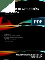 modelos de autonomía