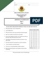 Exercises Addmath Form 4