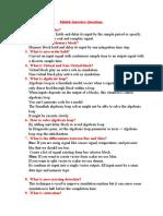 Matlab interview questions